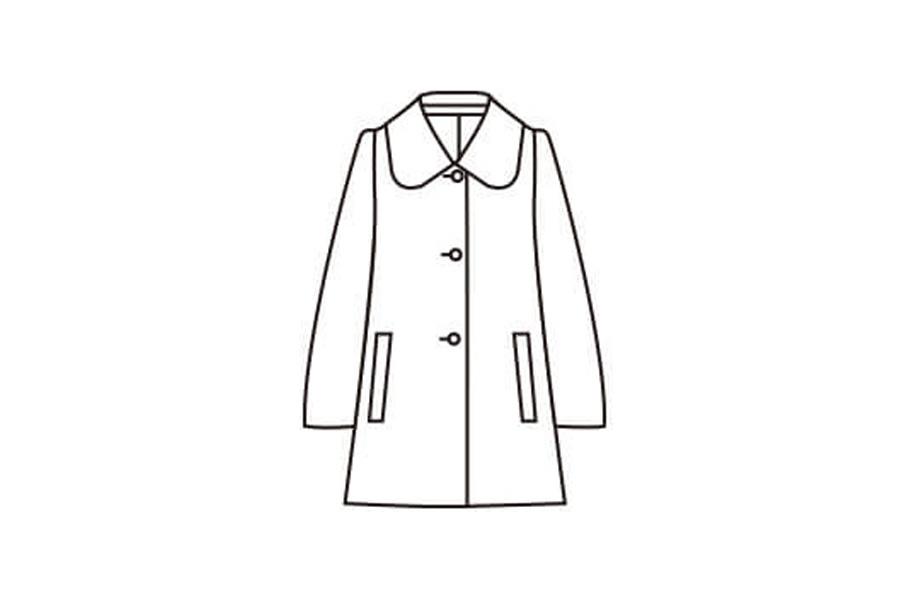 小見出しステンカラーってどんなコート?のイラスト画像