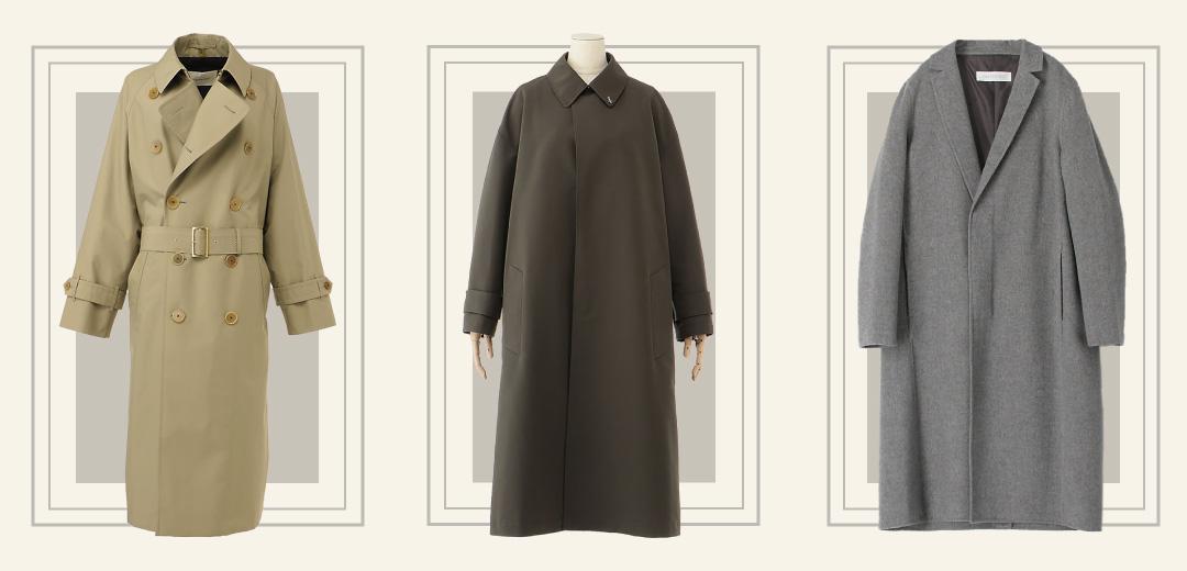 トレンチとチェスターとステンカラーの違いを知っていますか?秋冬コートを形で選ぼうのメインビジュアル