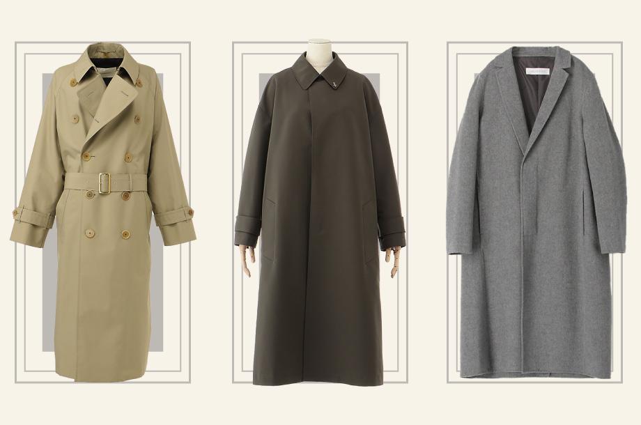 トレンチとチェスターとステンカラーの違いを知っていますか?秋冬コートを形で選ぼう