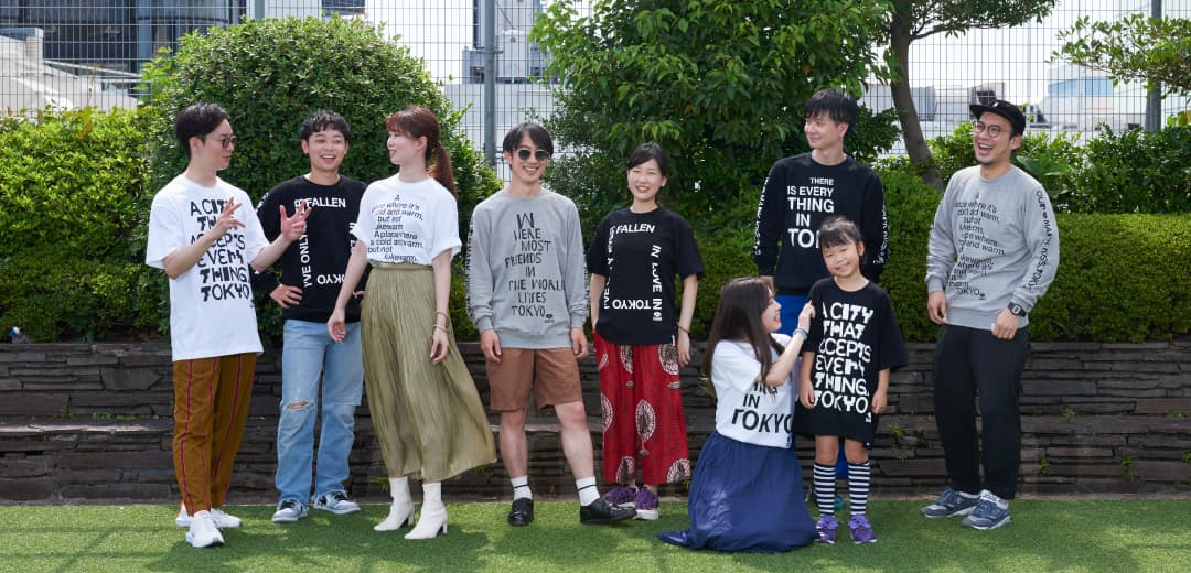 """久米繊維工業とコラボレーション。「ISETAN × KISS, TOKYO """"TOKYO DESIGN MEETING""""」のオリジナルTシャツ&スウェットが誕生!のメインビジュアル"""