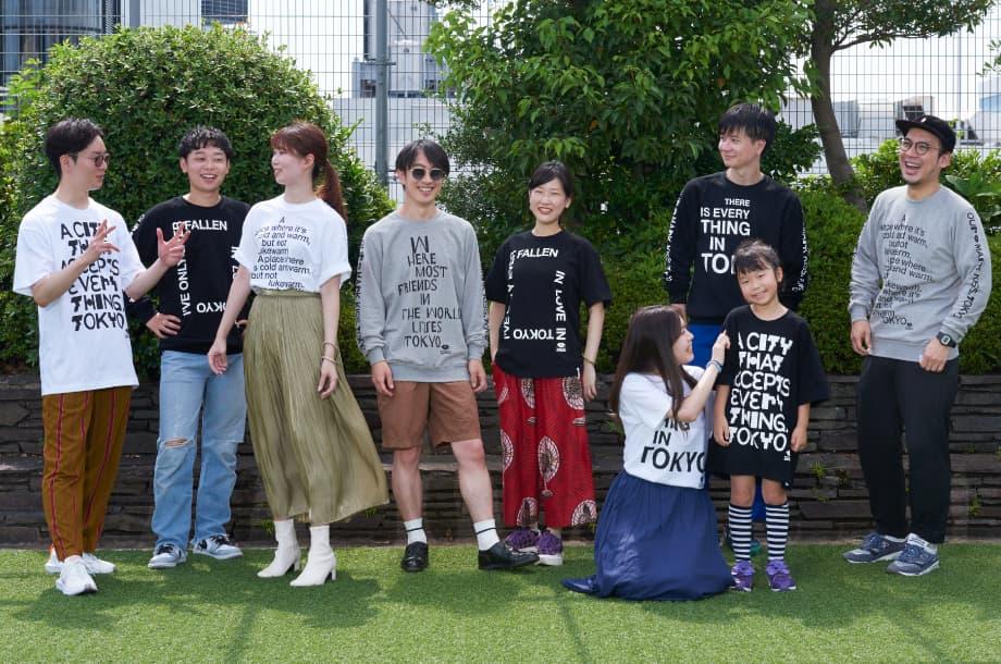 """久米繊維工業とコラボレーション。「ISETAN × KISS, TOKYO """"TOKYO DESIGN MEETING""""」のオリジナルTシャツ&スウェットが誕生!"""