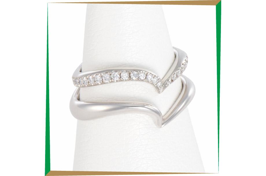 <トモココデラ>ダイヤモンドリングの画像