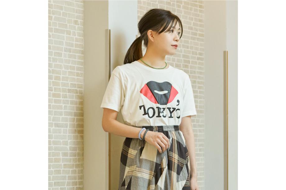 <ディスマセント> リメイクシャツの着用イメージ画像