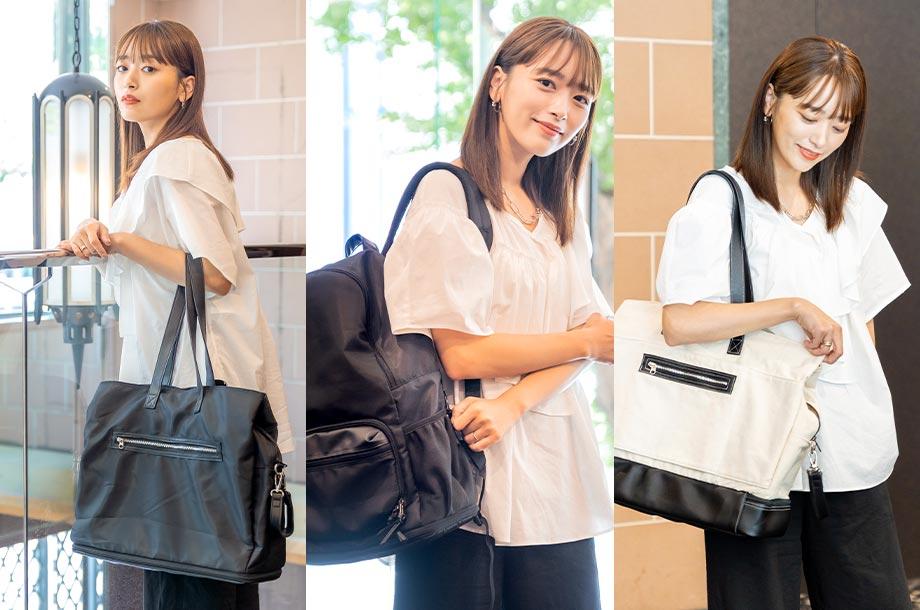<AJUGA.>大人気マザーズバッグをリニューアル!ディレクター近藤 千尋さんが語るバッグに込めた想いとは?