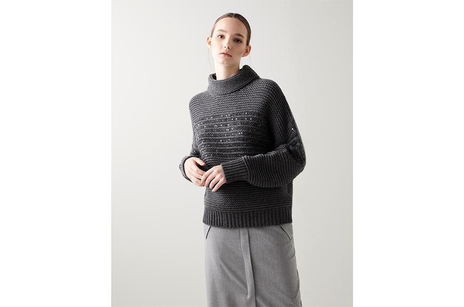 <ブルネロ クチネリ>セーターの画像