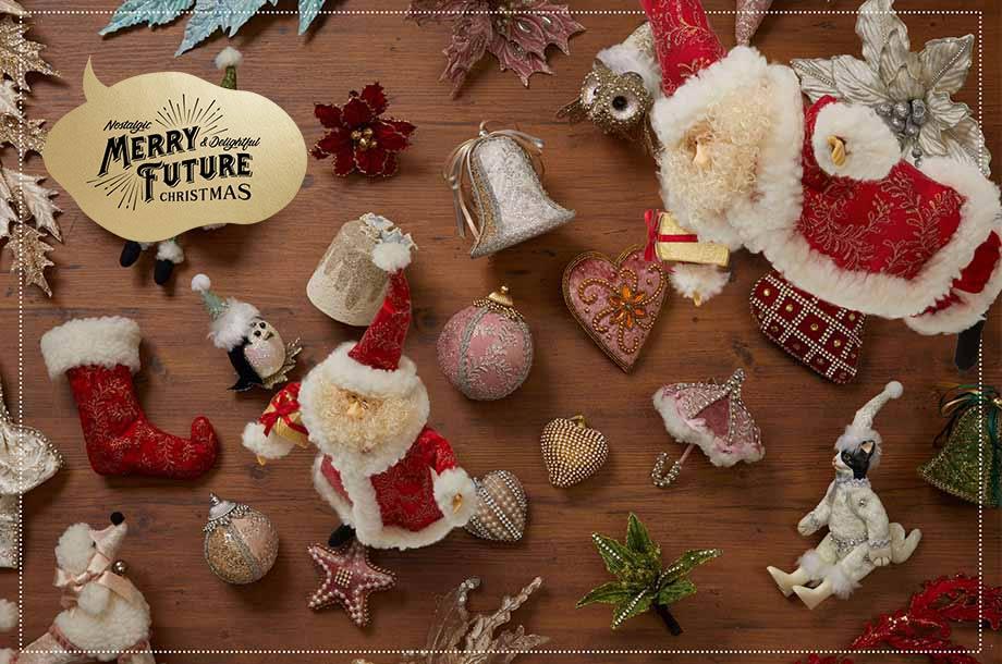 <マジョツリー>魔女が作った!?おしゃれで可愛いクリスマスツリー&オーナメント