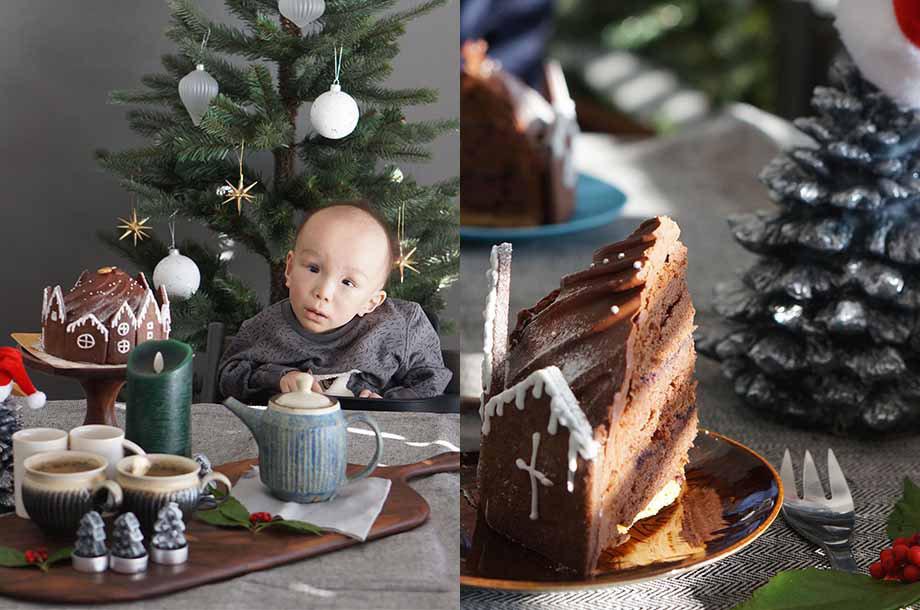 あーやさんのクリスマスの飾り付けの画像