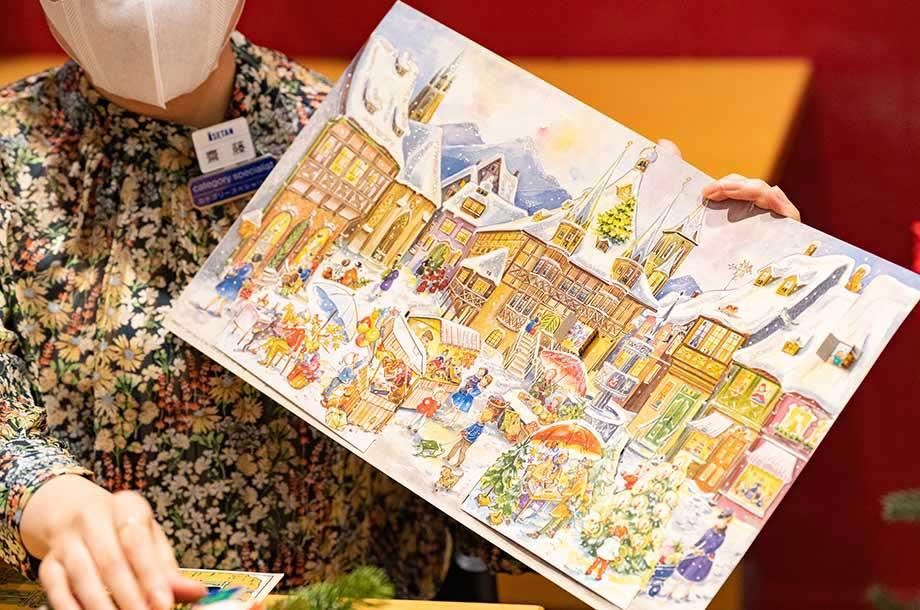 <アトリエ ニキティキ>アドベントカレンダーの画像