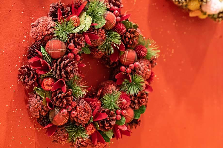 <A.P.J.Christmas>リースの画像