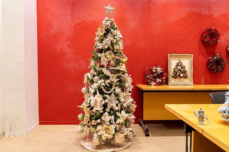 <MAJOTREE>スリム 180㎝ クリスマスツリーの画像