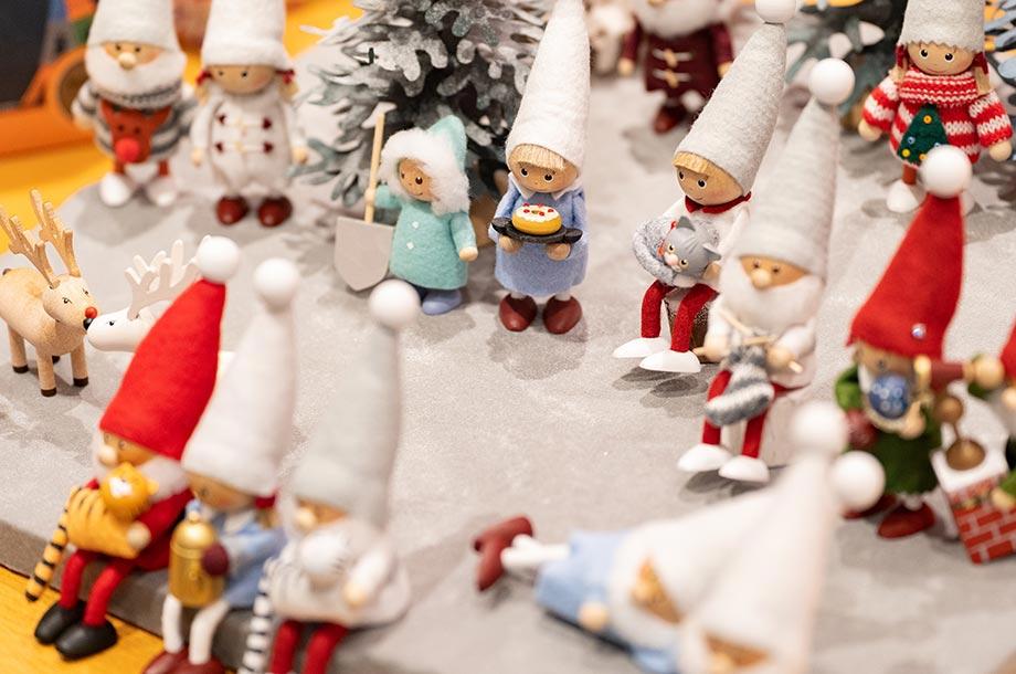 <ノルディカニッセ>サンタさんのお人形の画像