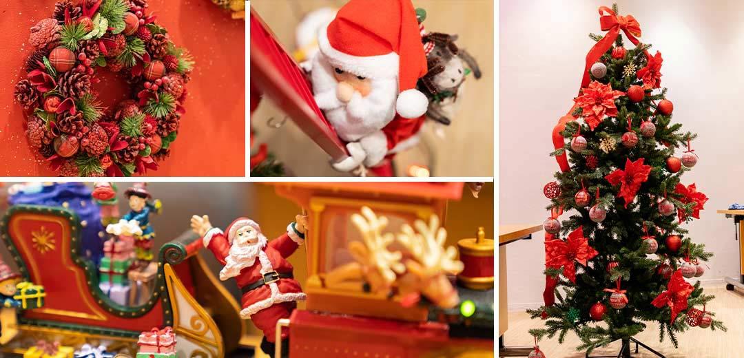 クリスマスの飾り付けどうする?ママ・パパ注目のおすすめアイテム&飾りつけ方法をご紹介!のメインビジュアル
